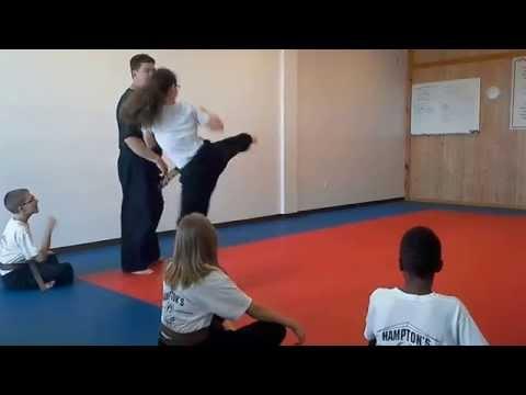 Hampton's Karate Academy - Kicking Drills 01
