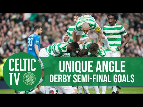 Celtic FC - UNIQUE ANGLE: Glasgow Derby goals from Hampden