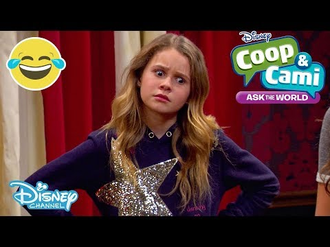 Coop and Cami | SNEAK PEEK: The Escape Room 👀 | Disney Channel UK