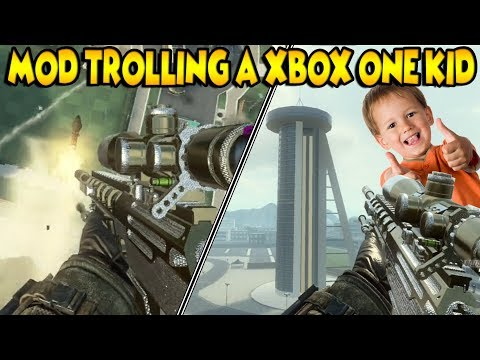 XBOX ONE KID GETS MODDED (Black ops 2)