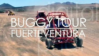 Buggy Tour on Fuerteventura in Coralejo. No Rallye Driving, no drifting but still a lot of fun :-)
