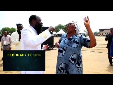 Huge Tumor Instantly Dissolves, Ghana Revival 2016 - Prophet Dr. Owuor