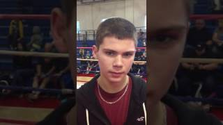 Interview w/Amateur Boxer Tyler Capasso on his upcoming Bout at the Willie Pep Invitational