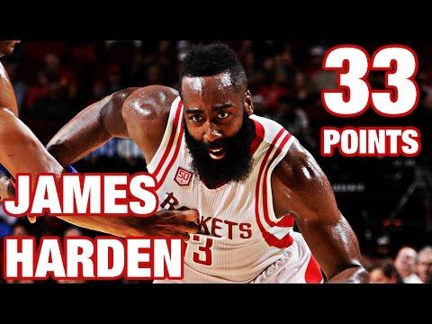 James Harden 33 Points 9 Assists vs 76ers
