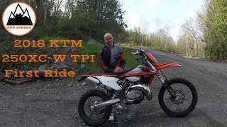 8. 2018 KTM 250 XC-W TPI First Ride - Episode 27