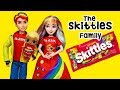 LOL Families ! The Skittles Family Save the Day | Toys and Dolls Fun for Kids | SWTAD