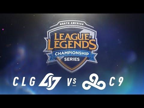 CLG vs. C9 - Week 1 Day 1 | NA LCS Spring Split | Counter Logic Gaming vs. Cloud9 (2018)