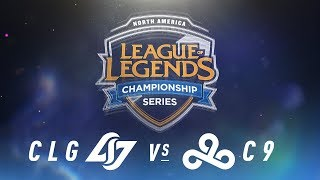 Video CLG vs. C9 - Week 1 Day 1 | NA LCS Spring Split | Counter Logic Gaming vs. Cloud9 (2018) MP3, 3GP, MP4, WEBM, AVI, FLV Agustus 2018