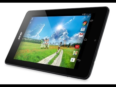 ACER Iconia One 7 B1-730 7-inch slate powered by an Intel Atom Bay Trail dual-core processor