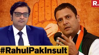 Video Did Rahul Gandhi Cross The Line By Comparing Judiciary To Pak? | The Debate With Arnab Goswami MP3, 3GP, MP4, WEBM, AVI, FLV Mei 2018