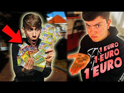 1 DAG LEVEN VAN 1 EURO IN NEDERLAND! *Is Dit Mogelijk?!* (видео)