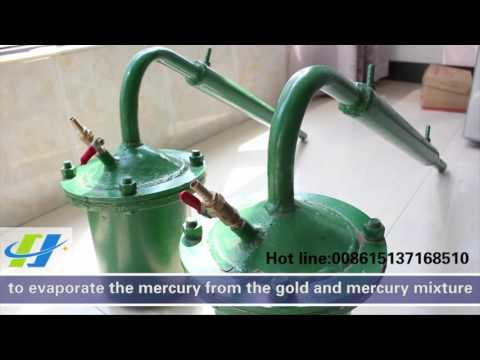 蒸汞罐 Mercury distiller