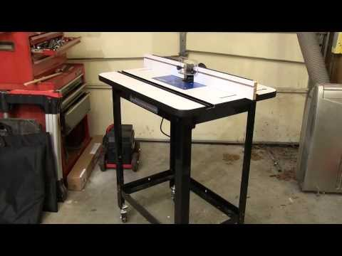 Rockler router table steel stand rockler woodworking and hardware rockler router table package with accessories review newwoodworker greentooth Gallery