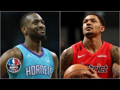 Video: Bradley Beal, Kemba Walker duel it out as Hornets beat Wizards | NBA Highlights