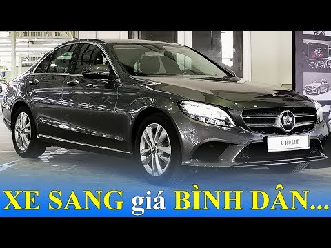 Mercedes C180 2020 về Việt Nam: ngang giá Toyota Camry, Honda Accord 2019 @ vcloz.com