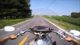 6. 2005 Yamaha Road Star 1700cc Test Drive
