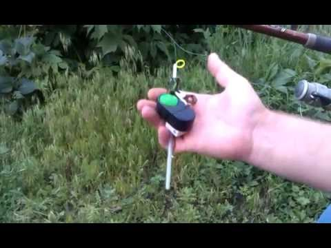 сигнализатор поклевки принцип работы видео