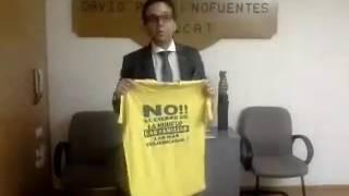 El repte de la samarreta: famílies que diuen  no sense Zona Franca