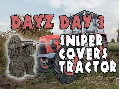 AS50 - My squad and I cover our tractor as it goes to refuel and enemy players get hungry eyes! Sniper gameplay. Dayz AS50 Gameplay! Tractors! Twitter: http://www.t...