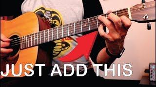 Video Enhance Your Open Chords (simple way to sound pro) MP3, 3GP, MP4, WEBM, AVI, FLV Juni 2018