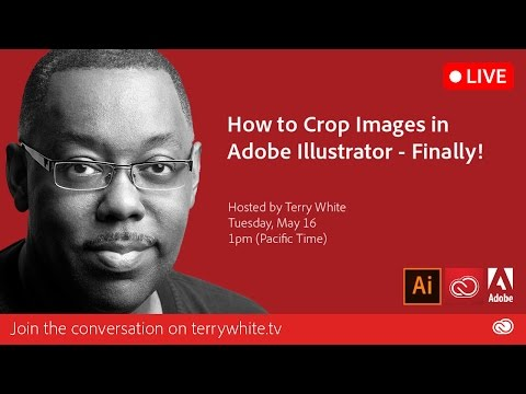 How To Crop Images In Adobe Illustrator - Finally!