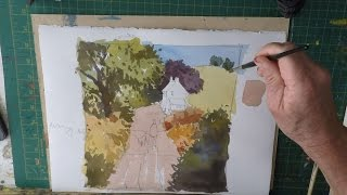 Paint A Landscape Using The 3 Primary Colours