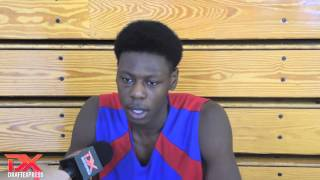 Jabari Craig 2013 Pangos All-American Camp Interview