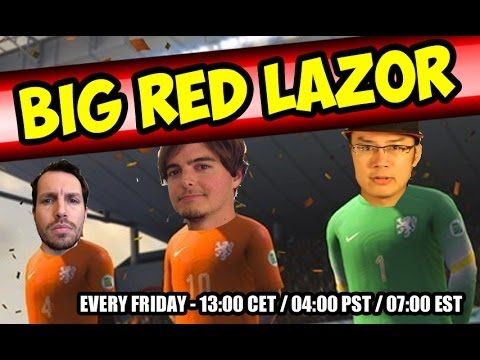 Red - Every Friday Big Red Lazor is there for two hours of live gaming. 13:00 CET // 04:00 PST // 07:00 EST This week Tim, Tamtu and Robert will play Marvel vs Cap...