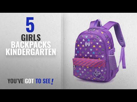 Girls Backpacks Kindergarten [2018 Best Sellers]: Hearts kids School Backpacks for Little Girls