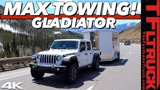 The 2020 Jeep Gladiator Takes On The World's Toughest Towing Test Fully Loaded: Super Ike S.3 Ep.1 by The Fast Lane Truck