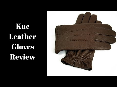 Kuc Elkskin Leather Gloves Review