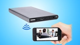WISEUP Network Configuration Guide of Power Bank WIFI Camera (...