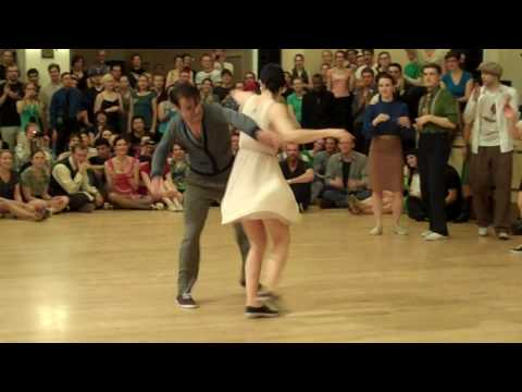 Jitterbug - Camp Jitterbug 2010- Lindy Hop Finals - Part 2 Pontus & Frida B. ; Jeremy & Carla ; Andrew & Karen ; Michael & Brittany ; Mike & Laura G. ; Nick & Larua K.;...