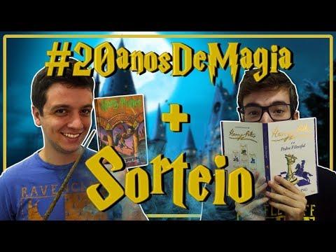 PROJETO LITERÁRIO #20anosDeMagia + Sorteio | #Luago