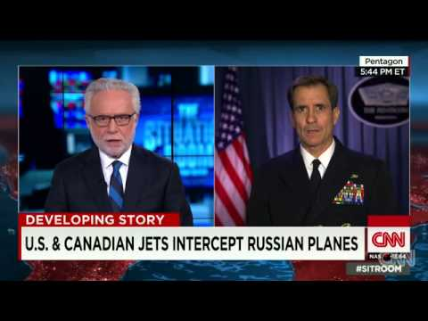 Russian Planes Intercepted Near U.s., Canadian Airspace
