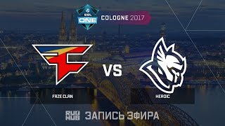 FaZe Clan vs Heroic - ESL One Cologne 2017 - de_inferno [CrystalMay, sleepsomewhile]