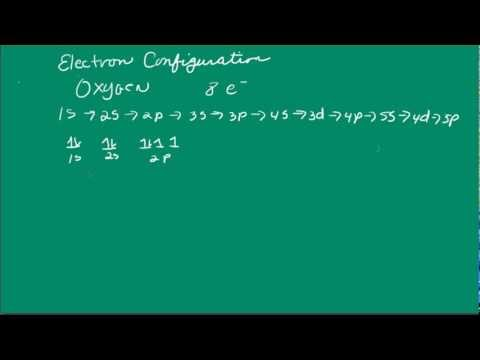 Electron Configurations for Oxygen, Strontium, and Arsenic