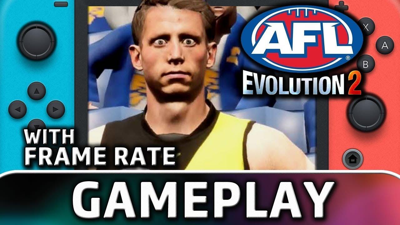 AFL Evolution 2 | Nintendo Switch Gameplay
