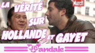 La vérité sur François Hollande et Julie Gayet