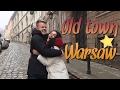 Старый город Варшавы! Едим польскую еду! Dos Vlog #150