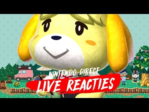 Nintendo Direct 14.9.2018 (live reacties)