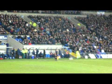 Dave Jones Gettin Abused by Leeds Fans