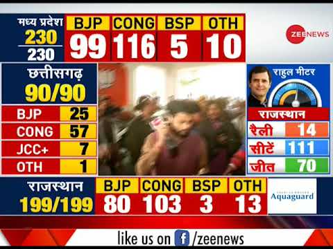 Election Breaking: Vasundhara Raje walks out without answering reporters question