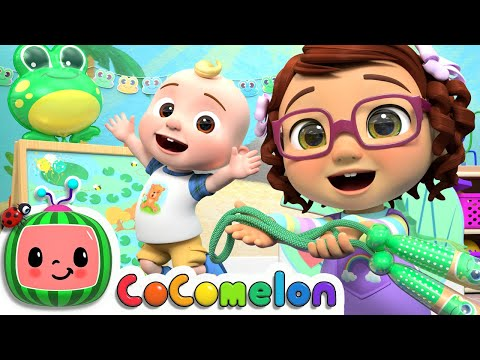 Stick To It   CoComelon Nursery Rhymes & Kids Songs