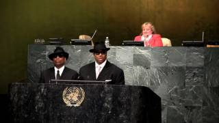 Jimmy Jam & Terry Lewis Speak at IYLA Global Summit at the UN General Assembly Hall Video