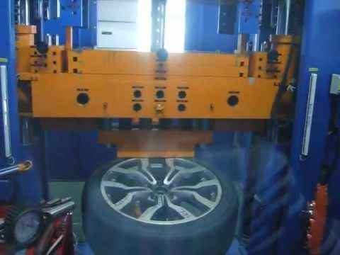 Тест на прочность колёсных дисков WSP Italy W565 Medea на удар обода (Ауди)