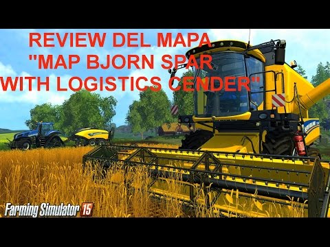 Map bjorn spar with logistics Cender v1.0