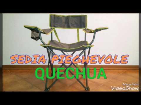 🇮🇹SEDIA PIEGHEVOLE QUECHUA
