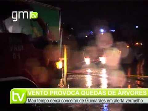 Mau tempo já começou a provocar estragos no concelho de Guimarães