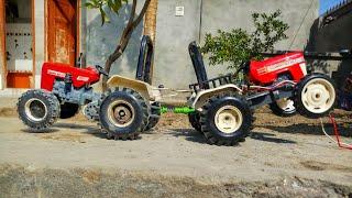 Toy Tractor for kids // swaraj 855 vs swaraj 963 tractor tochan